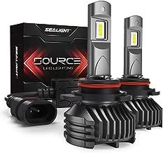SEALIGHT 9005/HB3 LED Headlight Bulbs High Beam 12,000LM High Power 6000K Cool White S3 Series