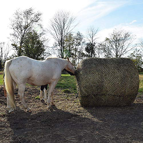 Tough1 Deluxe Round Bale Slow Feed Hay Net