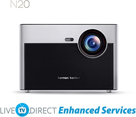 $799 Get Home Projector, XGIMI N20 Home Projector Native 1080p HD Projector Android 3D Smart TV Video Movie Projector 4K UHD Support Chinese Version with LiveTV.Direct Enhanced