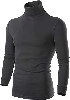 Turtleneck Men Pullover Sweaters, Long Sleeve Mock...