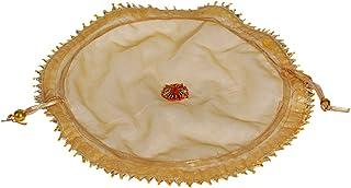 Kusum Women's Zari Silk Potli Handicrafts and Jewellery Potli Wristlets Ethnic Potli For Women's, Shagun Potli set of 2