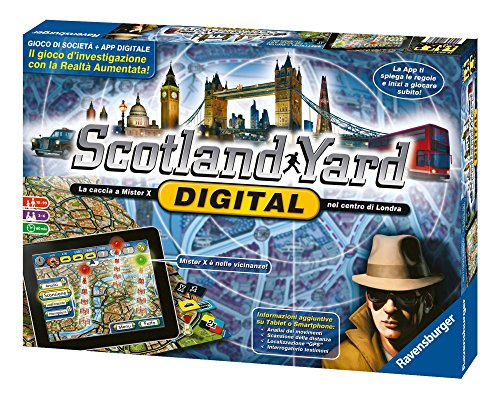 Ravensburger 26672 Jeu Scotland Yard Digital