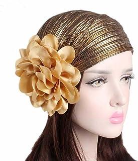 b3ec01b043eb0b Binmer(TM) Turban Hat, Women Ladies Retro Big Flowers Hat Turban Brim Pile