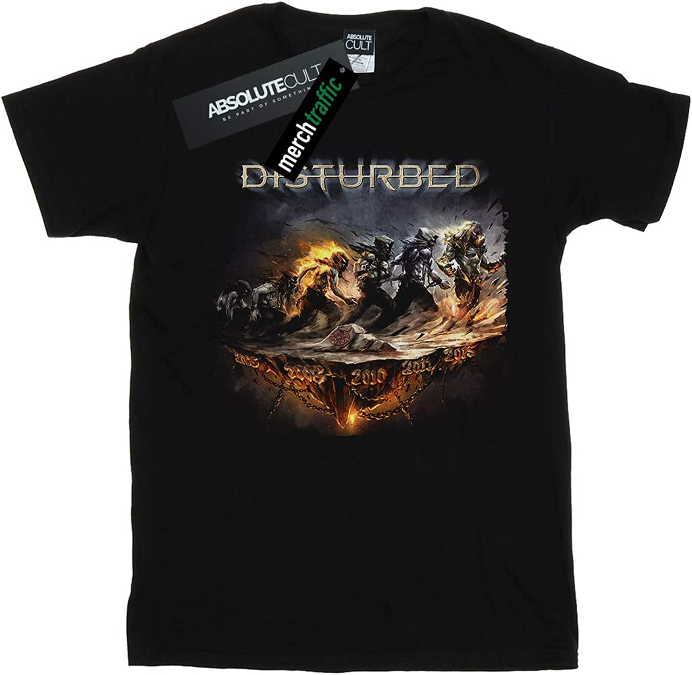 ABSOLUTECULT Disturbed Boys Evolution Walk T-Shirt