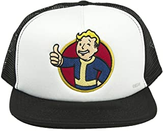 Fallout Vault Boy Trucker Hat Black