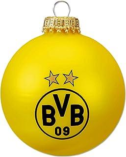 Borussia Dortmund Unisex – Erwachsene BVB-Christbaumkugeln