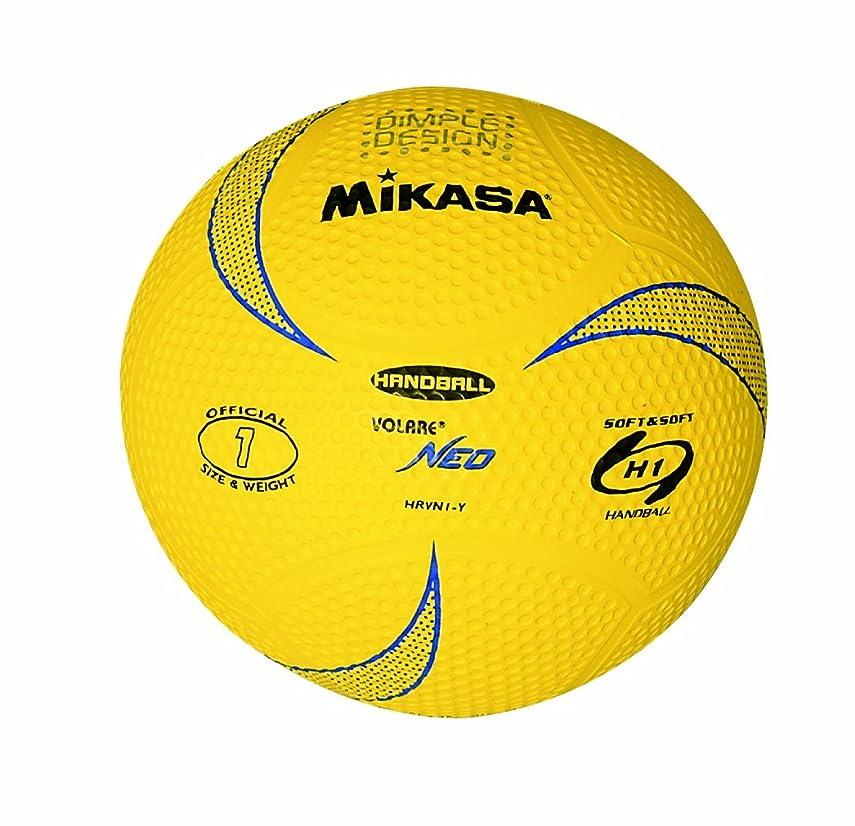 有益クラシカル砲兵ミカサ ハンドボール ソフトハンドボール1号 ディンプル 軽量球140g 小学校用 HRVN1-Y