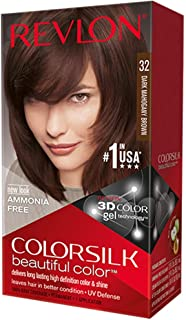 red mahogany brown hair dye