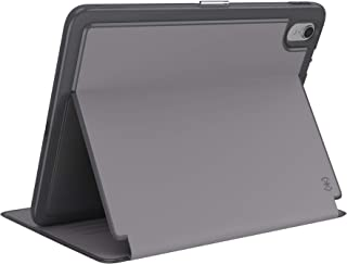 Speck Products Presidio Pro Folio Case, Compatible with Apple 11-inch iPad Pro, Filigree Grey/Slate Grey