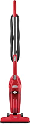 Dirt Devil Versa Clean Bagless Stick Vacuum Cleaner and Hand Vac, 16ft. Power Cord, SD20010, Red