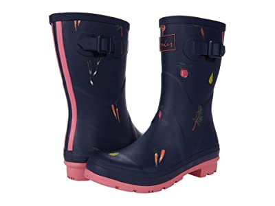 Joules Molly Welly (Navy Vegetables) Women