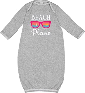 inktastic Beach Please Sunglasses Gift Newborn Layette
