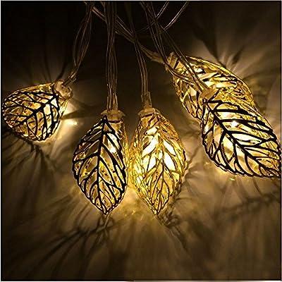 COSOON Solar Powered Indoor/ Outdoor String Lights for Christmas, Indoor, Outdoor, Party Decor