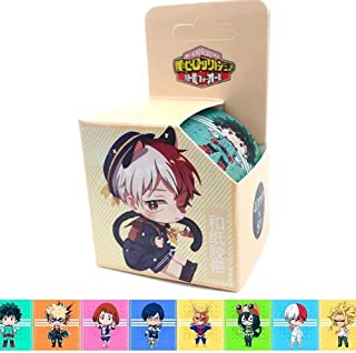 Bowinr Japanese Anime Decorative Masking Tape for Scrapbooking, DIY Crafts, Gift Wrapping, Holiday Decoration (My Hero Academia)
