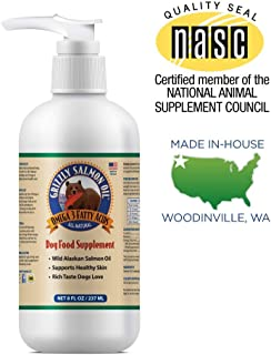 Grizzly Salmon Oil Omega-3 Fatty Acids All-Natural Dog Food Supplement