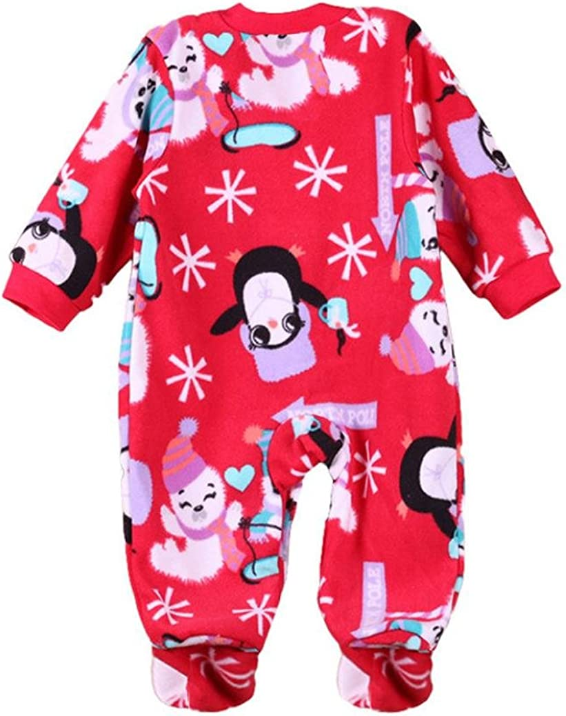 FORESTIME Christmas Newborn Baby Boys Girls Cartoon Animal Romper Jumpsuit Outfits Clothes