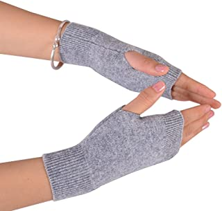 Best NOVAWO Cashmere Fingerless Gloves Soft Warm Arm Warm Gloves Review