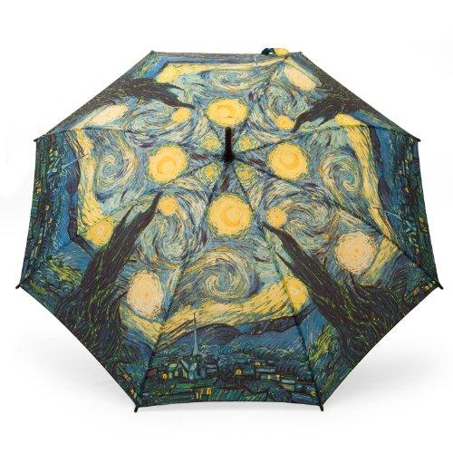 Galleria Regenschirm Stockschirm Vincent Van Gogh Starry Night - Rosemarie Schulz - Deko und Geschenkideen