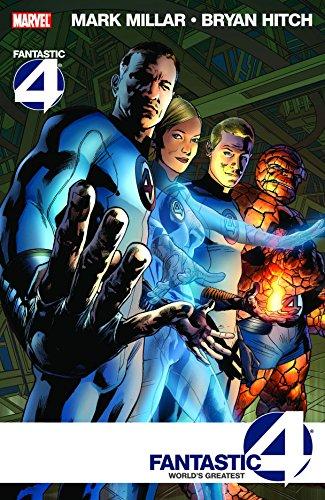 Fantastic Four: World's Greatest TPB (Graphic Novel Pb) by Bryan Hitch (Artist), Mark Millar (Illustrated, 18 Mar 2009) Paperback