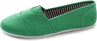Women's Shoe Slip on Sneaker Canvas Flat
