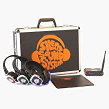 Bar and Grill Silent Sound System Package (9 Headphones + 1 Transmitter)