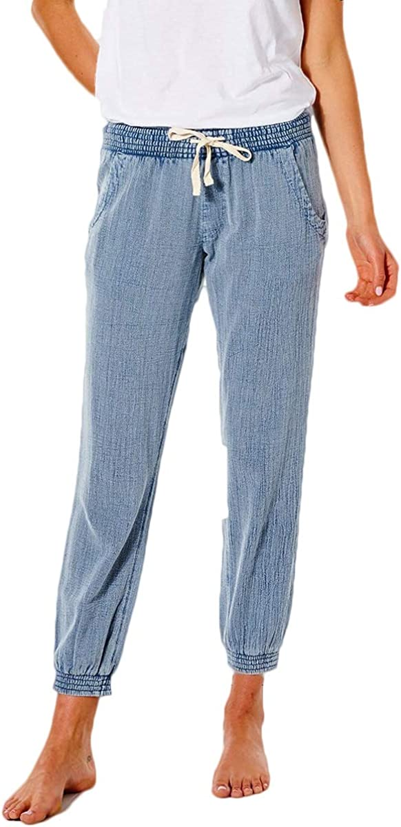 Rip Curl Women's Classic Surf Pant, Casual Stretch Beach Pants for Women