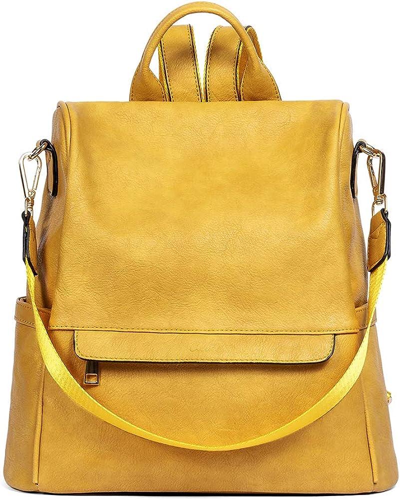 CLUCI 予約 Women Backpack Purse Fashion Designer Leather Travel 注文後の変更キャンセル返品 Large