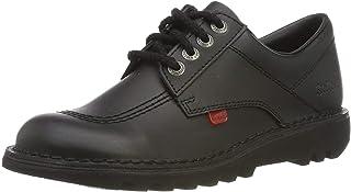 Kickers Lo Patent, Chaussures à Lacets Femme
