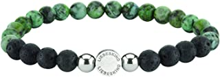 Liebeskind Berlin Perles de 6 mm avec logo et boule en acier inoxydable