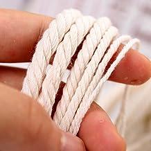 2mm 3mm 4mm Natuurlijke Katoen Macrame Touw String Lint Naaien Ambachten DIY Hilo Macrame Koord Beige Twine Bruiloft Kerst...