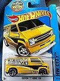Hot Wheels Custom '77 Dodge Van Yellow and Black Mooneyes 20/250