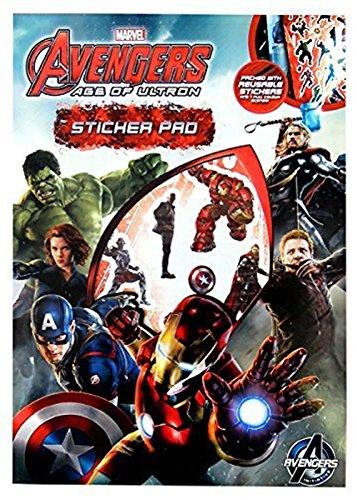 Anker Avengers Age of Ultron Autocollant Pad, Plastique, Multicolore