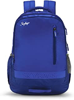 Skybags Bingo Extra 35.5005 Ltrs Blue School Backpack (SBBIE02BLU)