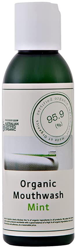 累積もつれサーキュレーションmade of Organics マウスウォッシュ ミント 125ml