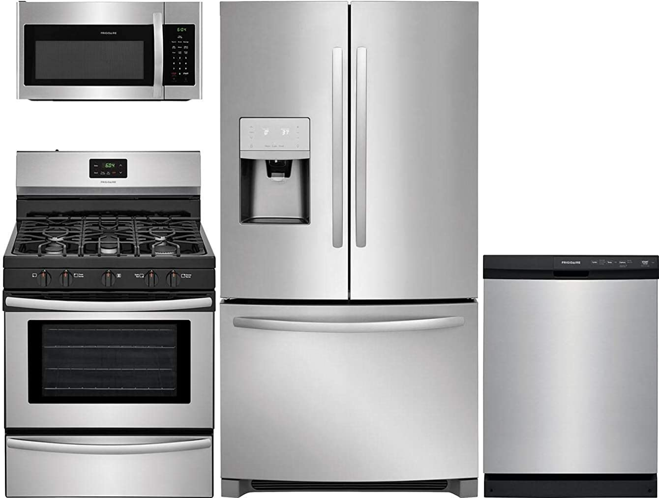 Frigidaire 4 Piece Kitchen Package with FFHD2250TS 36