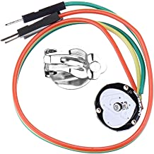 ZSYUN Pulso del módulo del Sensor del Ritmo cardíaco del Sensor del Latido del corazón Compatible for Arduino Spot Steuermodul
