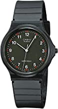 Casio MQ24-1B 3-Hand Analog Water Resistant Watch