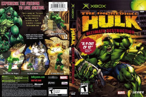 The incredible HULK - Ultimate Destruction [XBOX]