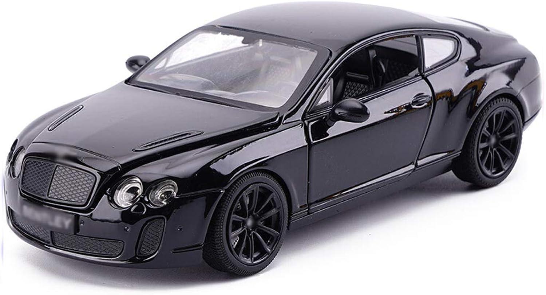 GXYGWJ Modellauto 1 24 analoges Druckgusslegierungsspielzeugauto 19x8x5.5CM (Farbe   black)