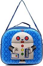 Skool Robot Carry-All Lunch Bag, Blue
