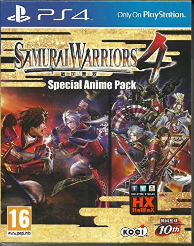SAMURAI WARRIORS 4 SPECIAL ANIME PACK [PLAYSTATION 4]