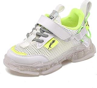 Bambini LED Light-up Scarpe Sportive USB Carica Lampeggiante Luminosi Running Sneakers con Luci Traspirante Basso Ultraleg...