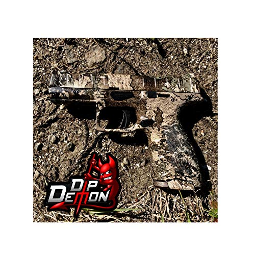 Hydrographic Film Camouflage True Timber Strata Camo Combat Military Desert Hunting Hydrographic Water Transfer Film Hydro Dipping Dip Demon