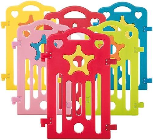 Hay más marcas de productos de alta calidad. LIUFS-Valla Juego De Niños Niños Niños Cerca Casa Cerca Aprender Escalada Escalada Valla De Una Puerta Bisel Pet Fence Materiales De Projoección Ambiental (Color   Single Piece)  solo para ti