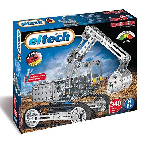 Eitech 00009 - Metallbaukasten - Jeep Set, 420-teilig