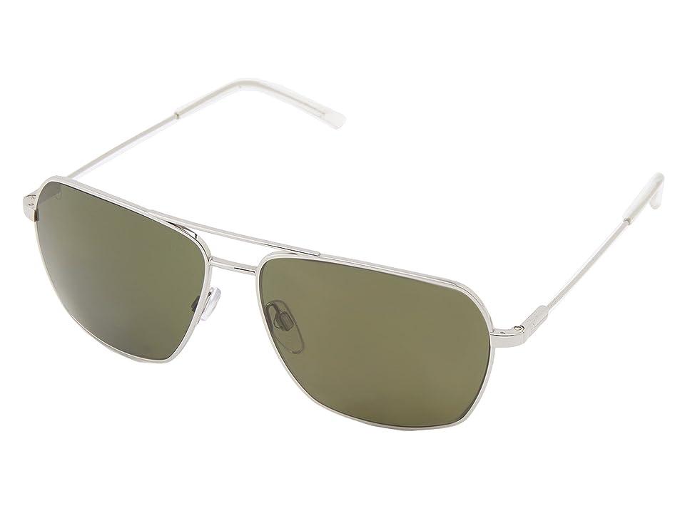 Electric Eyewear Av2 Polarized (Platinum/OHM Grey Polar) Sport Sunglasses