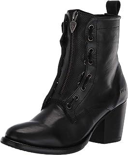 حذاء نسائي بسحّاب مزدوج متوسط الارتفاع من مارك ناسون