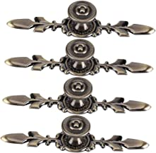 DaMohony Deurknop voor ladekast kledingkast 4 stuks meubelgreep met schroeven