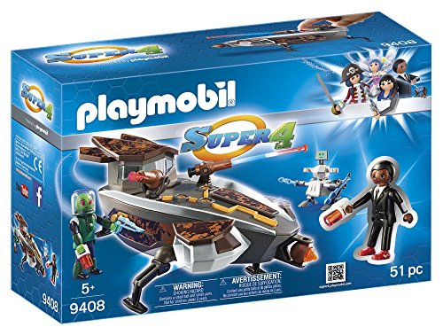 Playmobil Gene y Sykroniano con Nave Super 4