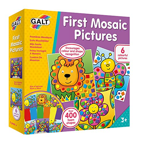 Galt Toys, First Mosaic Pictures, Childrens Creative Activity Sets, Ages 3...